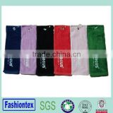 brand name promotion custom sport golf fitness gym towel 100% cotton