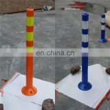 Security Reflective Flexible Traffic Guardrail Plastic Post
