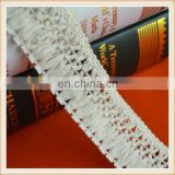 2016 New fashion decorative fringe /cotton fringe lace /braid fringe lace /fringe trimmings for garments