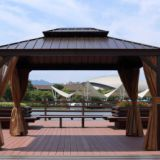 Alum Metal Roof Gazebo Outdoor Pavilion Garden Gazebo Metal Roof Panels Steel Sheet for Pavilion