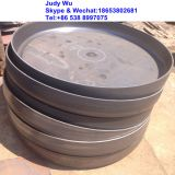 304 stainless steel Flat Flange Head forged boiler part bottom cover