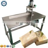 small scale soap production line small laundry soap making machine with pressing, cutting process