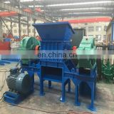 2-6t per hour capacity PP,PE Plastic tyre shredder machine, waste tire shredder for sale