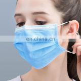 Cheaper price non woven face mask 3 ply disposable face mask