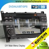 "Erisin ES2508B 7"" Mercedes W209 W203 Double Din Car Audio System with WiFi Bluetooth"