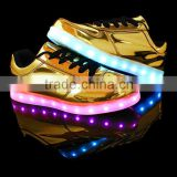 LED Shoes USB Charging Light Up Glow Shoes Men Women Fashion Sneakers Flashing Luminous Sports Shoes