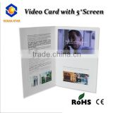 Customized 4.3 inch Greeting Card Video Module LCD Brochure Module Video Module USB Supply