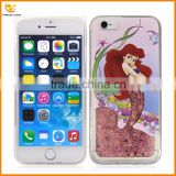 glitter cartoon print tpu case for apple iphone 6                                                                         Quality Choice