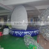 Wholesale most popular giant inflatable human size snow globe