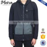 Hot Selling Wholesale Casual Mens Full Zip Hoodies Cheap