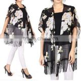 Instyles SEXY ROSE PRINTED TOPS FOR CARDIGAN, BATWING SLEEVE BLOUSE best clothing Clothing