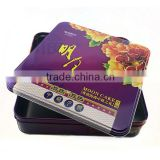 fruit candy tin can,empty chocolate package metal case,dongguan square tin boxes for cookies