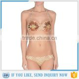 Popular bikinis woman swimwear 2016 hot sexy girls bra photos made in China