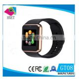 2016 GT08 Smart Watch Whole sale V 3.0 Bulethooth MTK6261 curren watch