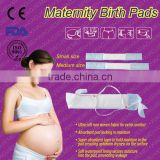 hypoallergenic cotton pads without wings super flow maternity chlorine free regular unscented