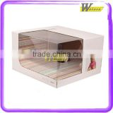 custom logo printed paper jewelry box cheap cardboard jewelry box wholesale paper jewelry packaging box gift