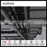 AURON/HEATWELL ss steel power cable ceiling bridge/ mild steel power rope quick joint bridge/power wire groove slot