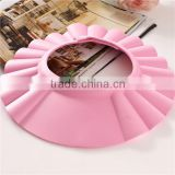 PINK Baby bath shower cap best selling tol shower cap for children