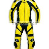 Professional leather motorbike Racing suits/motorcycle leather suit/ replica leather racing suit/WB-MS403