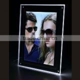 Acrylic Advertising Frame / Display Poster Light Box / sunglass poster advertise