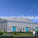 Economical earthquake proof Steel Structure Workshop, mobile workshop Made In China