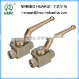China gold manufacturer super quality ss high pressure double ball check valve