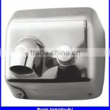 stainless steel hand dryer with 110V or 220V, wall mounting bathroom automatic manual hand dryer                                                                         Quality Choice