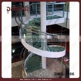 wired glass prices glass tread stainless fitting used spiral staircase