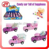 Lovely car shape china candy toys with EN71
