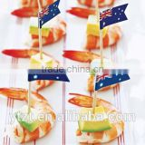 disposable custom decoration cupcake flag pick