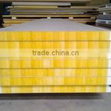 shipping container house material galvanized steel corrugated roof panel/mineral/rockwool sandwich panel