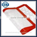 Silicone Baking Mat for Macarons Professional Fiberglass Baking Liner Reusable Non-Stick Pastry Mat
