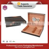 Top end custom wooden package for cigars