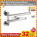 double layers towel rack/towel bar/grab bar made in China