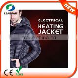 waterproof polar fleece Smart Heating Jackets With Bluetooth System
