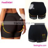 Ladies sexy breathable hip padded panties