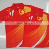 specialized short sleeve badminton wear