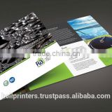 high quality Paper Print catalogue brochure design Leaflet printing