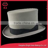 cheap man hat wholesale mini top hat wool felt hat