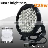 Super bright 10inch 225w led work light, Auto parts led driving light 225w