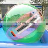 Hot sale inflatable water rolling balls walking water ball pool for kids and adult play in water park