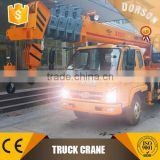 China best 4 ton / 5ton /8 ton / 10 ton / 12 ton / 16 ton truck crane manufacturer with best quality