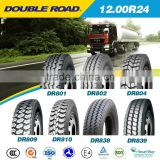 high quality cheap price DOUBLE ROAD heavy duty truck tyre 1200r24 for mining                                                                                                         Supplier's Choice