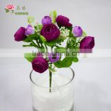 Factory price new fashion fresh cut silk flower China wholesale Wedding stage decoration