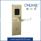 Digital RF card door lock in stainless steel no software needed