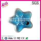 Popular magic star snowflake shape gel hand warmer
