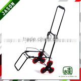 Pooyo powder coating climb stair luggage cart 55ZP-3L