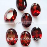 6*8mm oval rough garnet