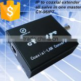 Single Channel IP to Coaxial Converter with BNC and RJ45 Interface for IP Camera