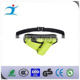 Waterproof neoprene running waist bag, outdoor fitness elastic sports running belt, elastic spandex money belt bag